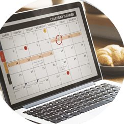 Project Development Consulting Calendar